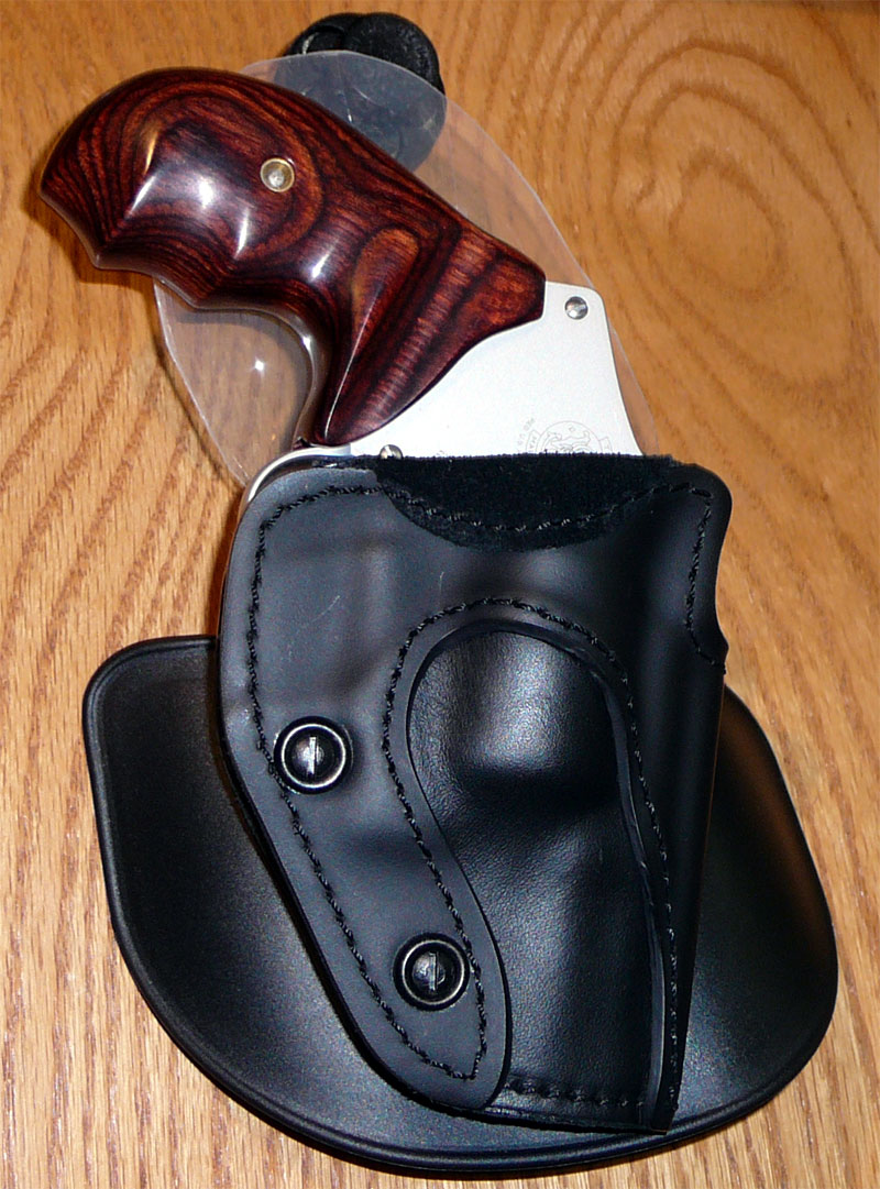 Paddle Holster/NO BELT recommendations needed for Centennial J Frame